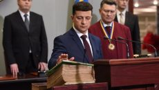 Зеленский присягнул на верность Украине