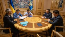 Зеленский встретился с руководителями НАБУ и САП
