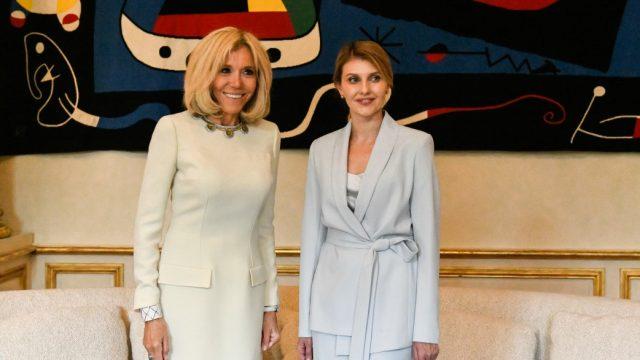 Зеленская пригласила жену Макрона в Киев