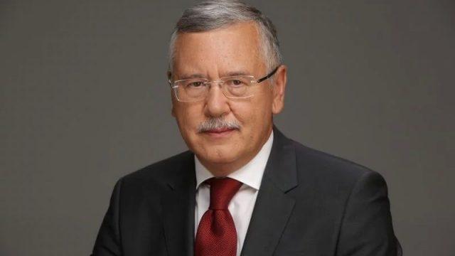 Гриценко представил первую пятерку