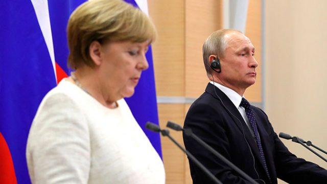 Меркель и Путин договорились о сохранении