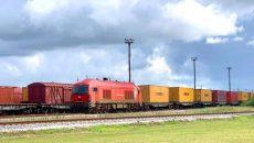 Украина запустила международный контейнерный поезд