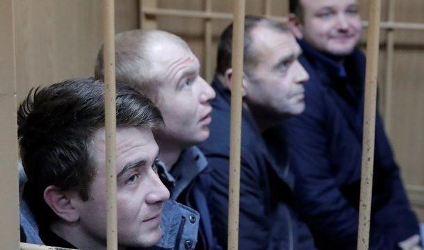РФ выдвинула обвинения всем украинским морякам