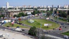 В столице готовятся к ремонту Дарницкой площади