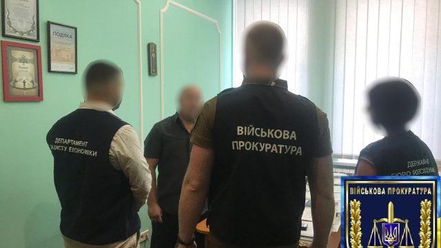 В Столице на взятке попался замдиректора департамента КГГА