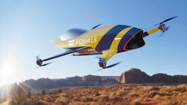 Стартап Alauda анонсировал гонки пилотируемых мультикоптеров