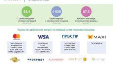 В Украине значительно увеличился выпуск электронных денег