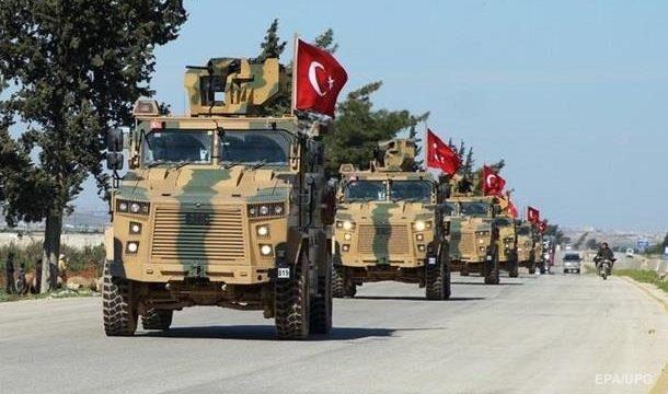 Турецкие войска зашли в Сирию