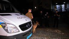 В Киеве обстреляли здание из гранатомета