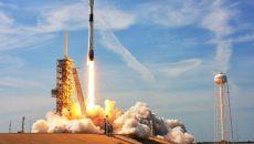 Американская ракета-носитель Falcon 9 вывела на орбиту спутник AMOS-17