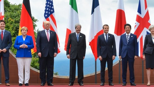 США будут работать над возвращением России в G-7