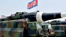 КНДР снова испытывает ракеты в соседнем море