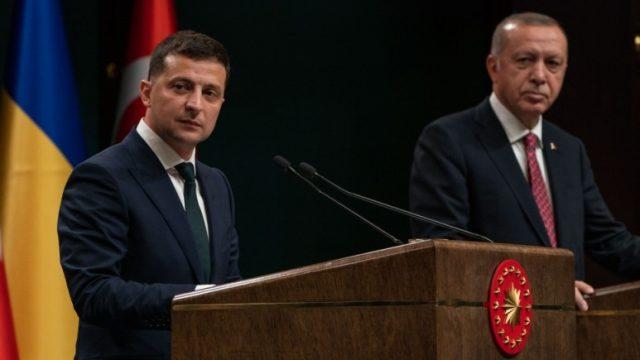 Зеленский заверил Эродогана, что вместе заставят РФ уважать международное право