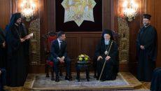 Зеленский провел встречу со Вселенским Патриархом