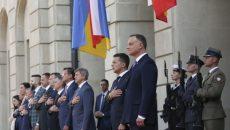 Началась встреча президентов Украины и Польши