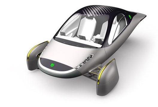 Американский стартап представил трехколесный электромобиль