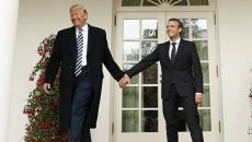 Макрон обменялся с Трампом своим планом по Ирану