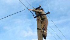 Ремонтники не могут возобновить электроснабжение в Марьинке