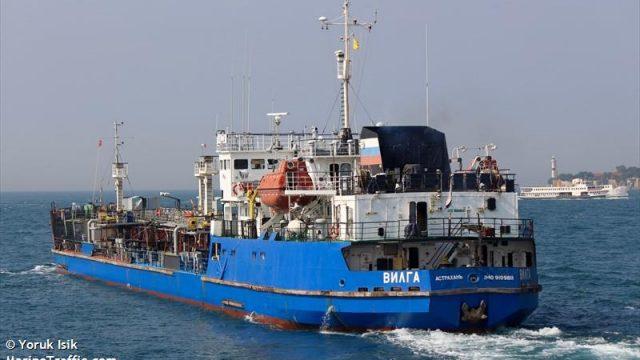 В Херсоне обыскали судно-поставщика топлива ЧФ РФ