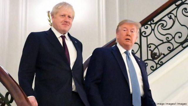 Трамп пригласил Джонсона посетить Вашингтон