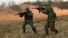 Многонациональные военные учения в Украине перенесены