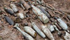 На Донбассе саперы изъяли и уничтожили 405 взрывоопасных предметов