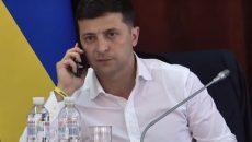 Президент Украины провел телефонный разговор с Премьером Великобритании