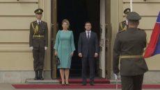 Зеленский встретился с президентом Словакии