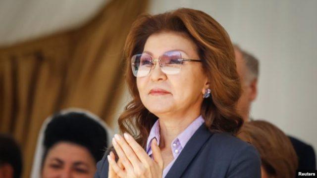 Дочь Назарбаева переизбрана спикером Сената Казахстана