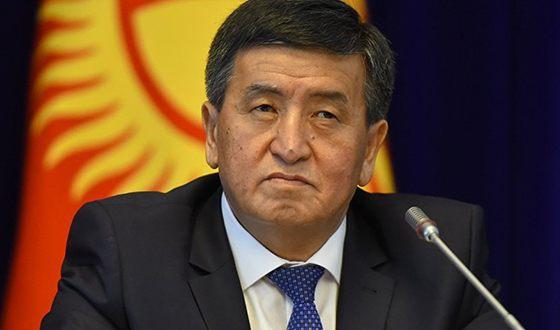 Президент Киргизии заявил о недопустимости эскалации на границе с Таджикистаном