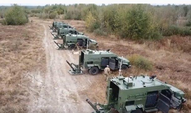 ВСУ получили первую батарею новых минометных комплексов