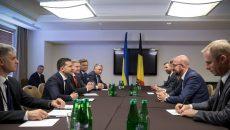 Зеленский встретился с премьером Бельгии
