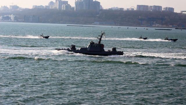 Начались учения ВМС Украины
