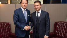 Зеленский обсудил с Премьером Италии борьбу с коронавирусом