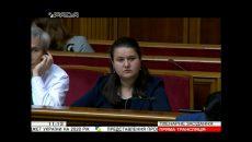 Маркарова представляет в Раде Бюджет-2020
