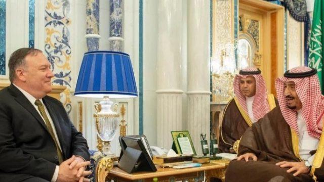 Помпео обсудил с принцем Саудовской Аравии агрессивные действия Ирана