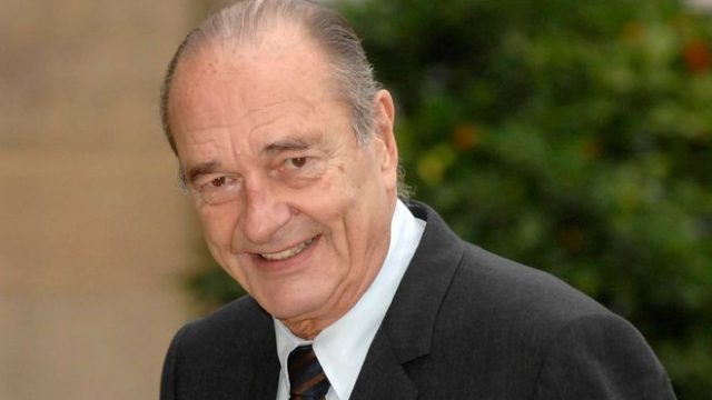 Умер Жак Ширак