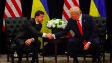 Зеленский встретился с Трампом