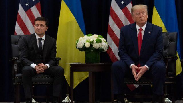 Зеленский обсудил с Трампом коррупцию в Украине