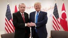 Эрдоган и Трамп обсудили зону безопасности в Сирии