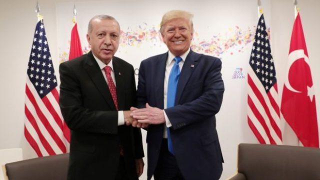 Трамп предостерег Эрдогана от