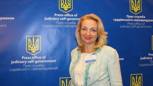 На Всеукраинском съезде избрали одну из трех судей КС