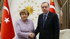 Меркель и Эрдоган обсудили ситуацию на северо-востоке Сирии