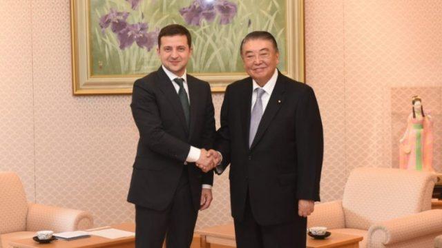Зеленский встретился с руководством парламента Японии