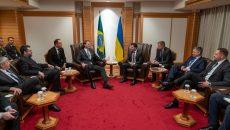 Президент Украины встретился с Президентом Бразилии