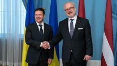 Украина и Латвия будут действовать скоординировано в международных организациях