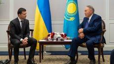 Зеленский обсудил с Назарбаевым Донбасс и Крым