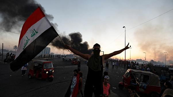 В ходе протестов в Ираке погибли 40 человек
