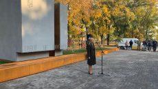 В Харькове открыли монумент Защитникам Украины