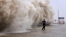 Число жертв тайфуна в Японии достигло 40 человек